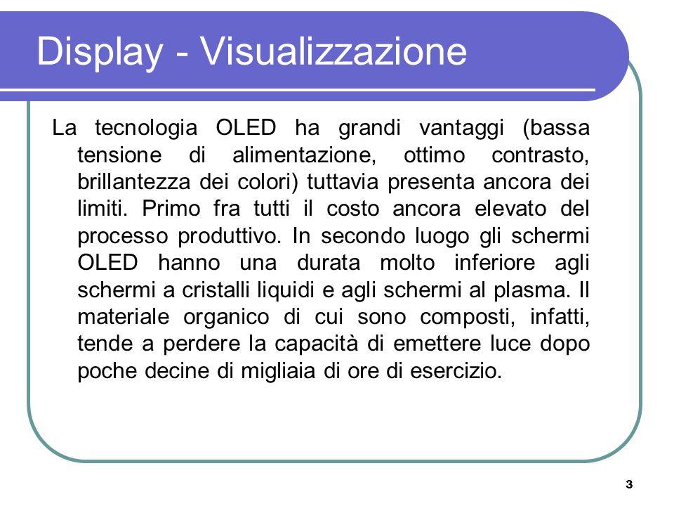Display - Visualizzazione