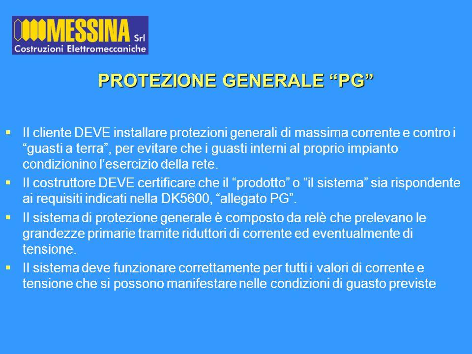 PROTEZIONE GENERALE PG