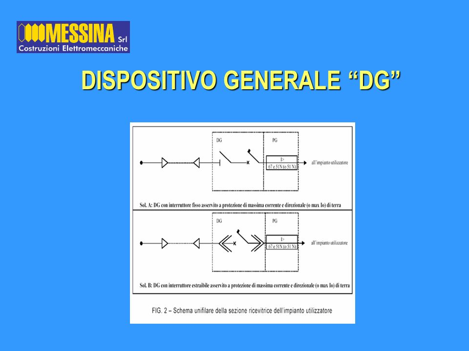 DISPOSITIVO GENERALE DG