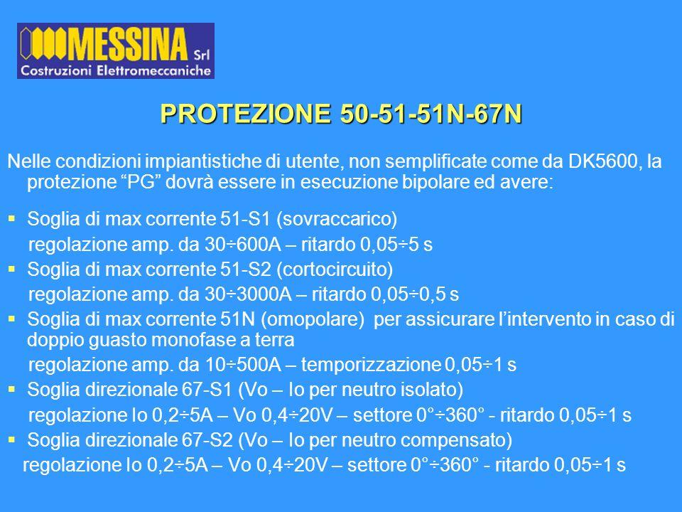 PROTEZIONE 50-51-51N-67N