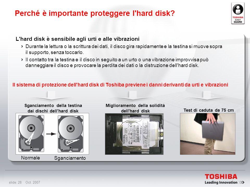 Perché è importante proteggere l hard disk