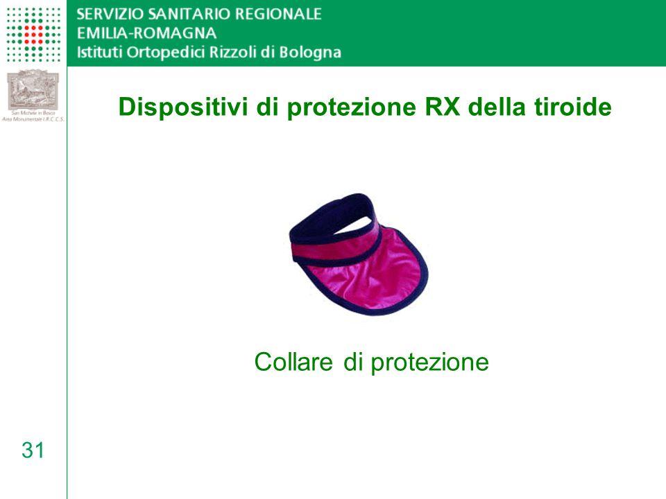 Dispositivi di protezione RX della tiroide