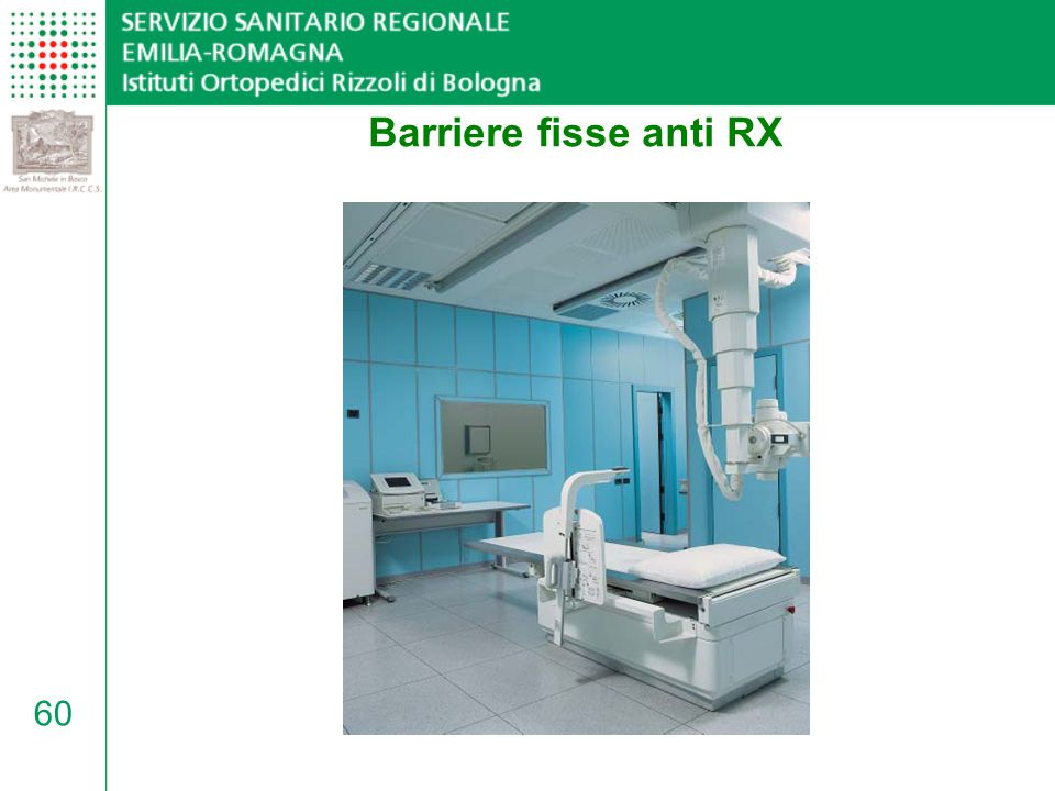 Barriere fisse anti RX