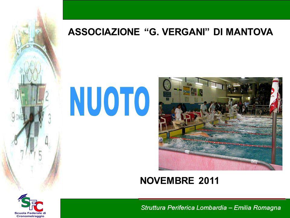 Corso Allievi cronometristi - nuoto A cura di Andrea Pederzoli