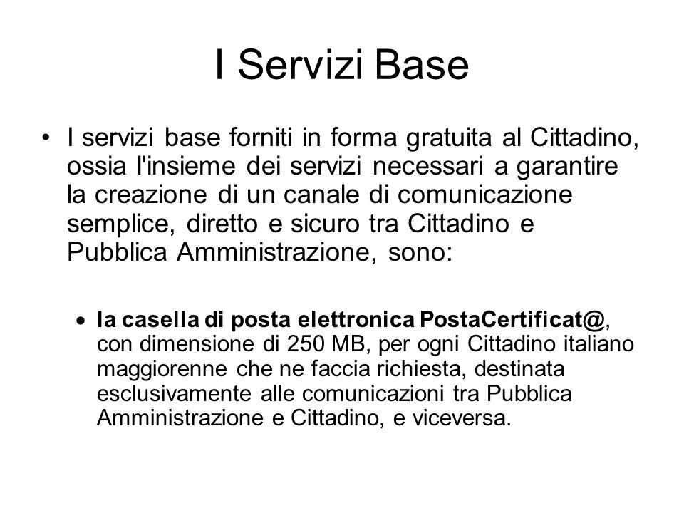 I Servizi Base