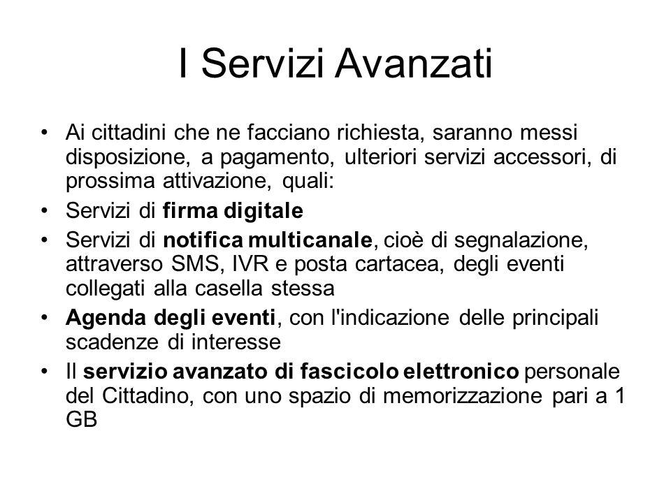 I Servizi Avanzati