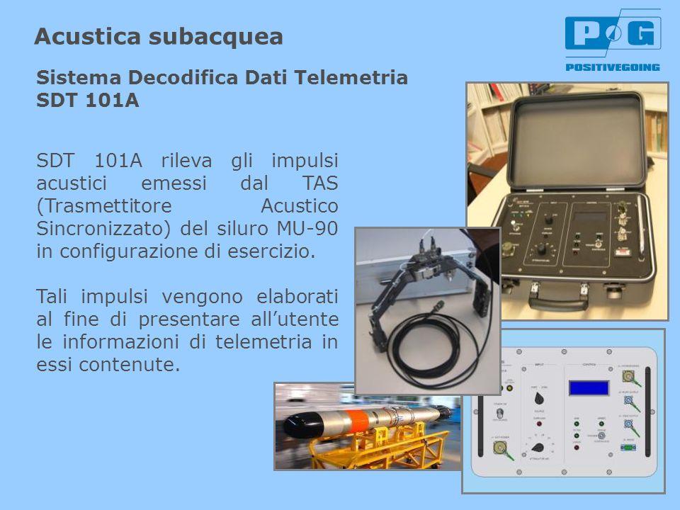 Acustica subacquea Sistema Decodifica Dati Telemetria SDT 101A