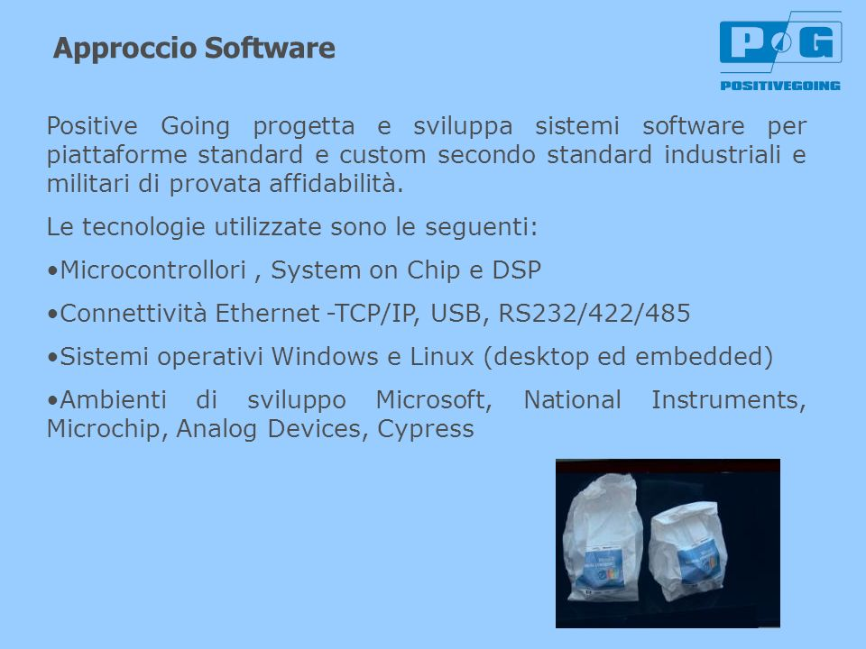 Approccio Software