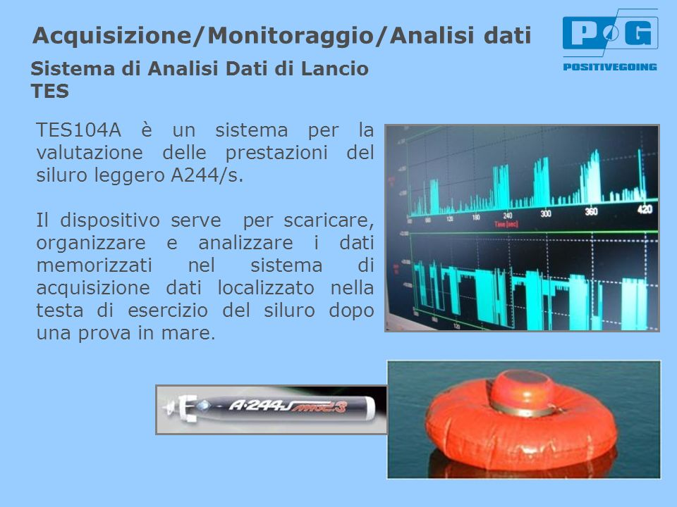 Acquisizione/Monitoraggio/Analisi dati