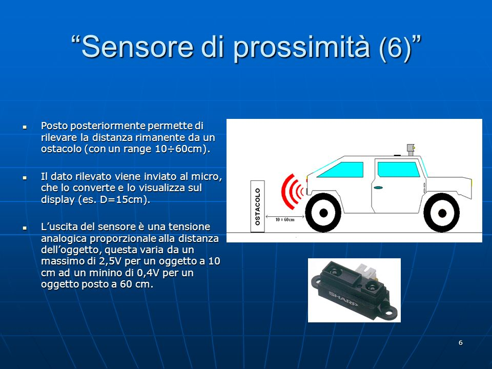 Sensore di prossimità (6)