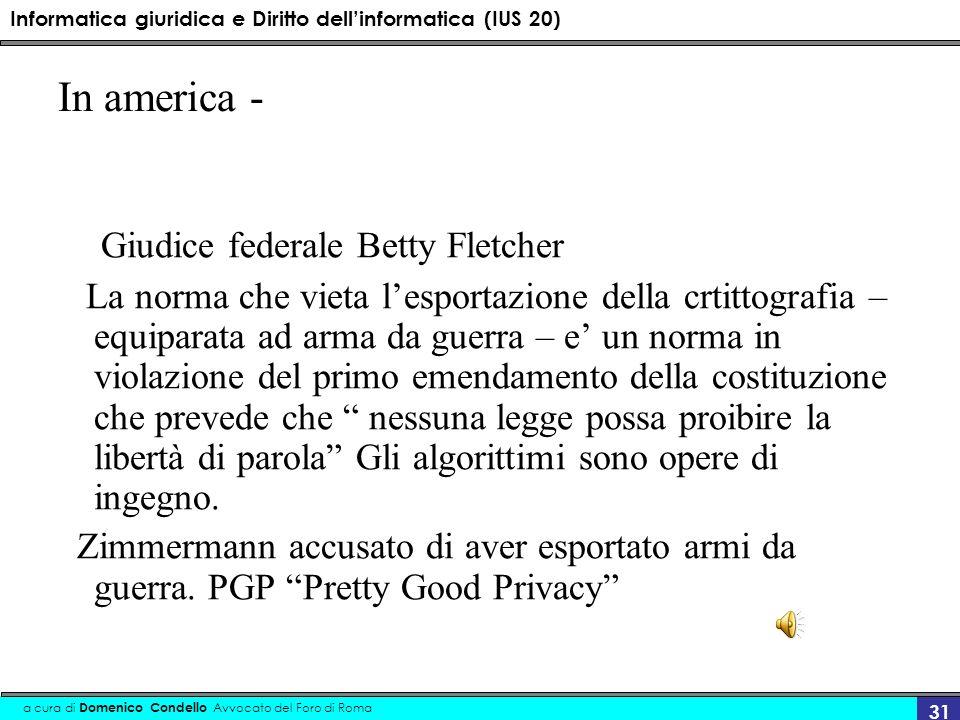 Giudice federale Betty Fletcher