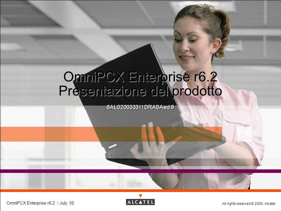 OmniPCX Enterprise r6.2 Presentazione del prodotto