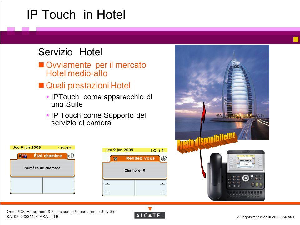IP Touch in Hotel Servizio Hotel