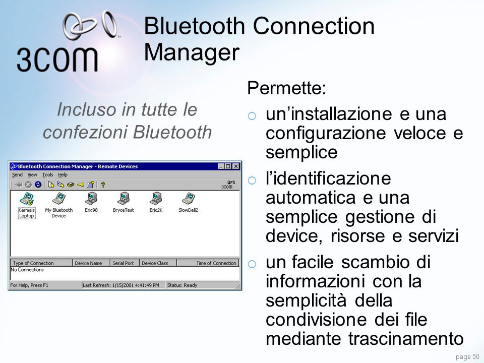 Bluetooth Connection Manager