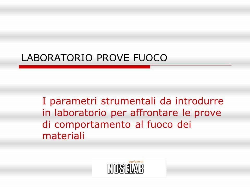 LABORATORIO PROVE FUOCO