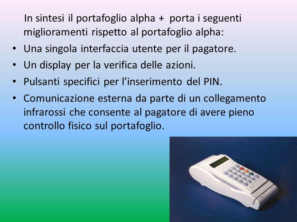 Una singola interfaccia utente per il pagatore.