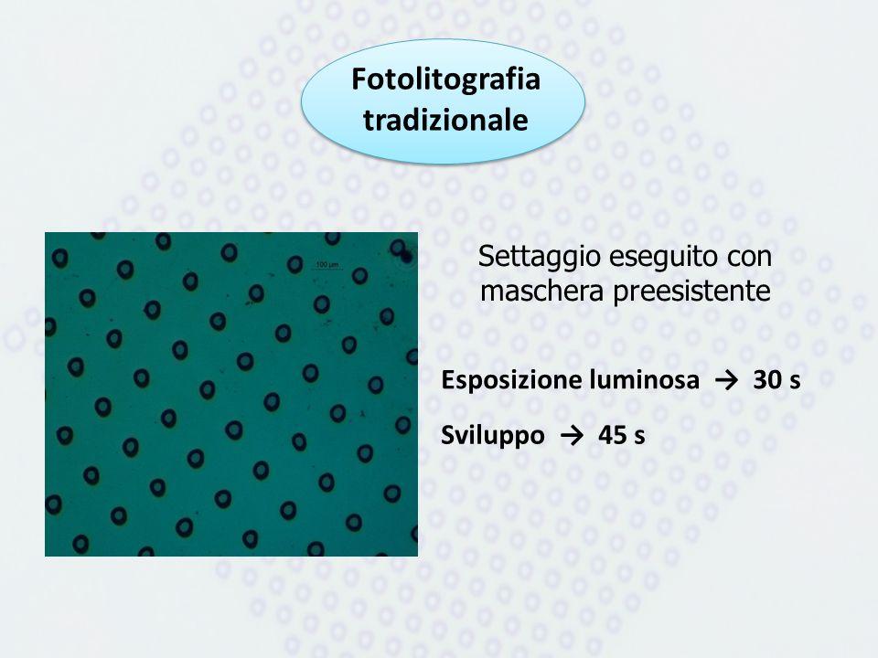 Fotolitografia tradizionale