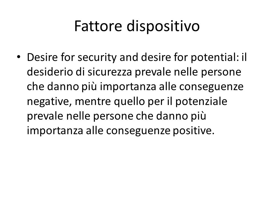 Fattore dispositivo