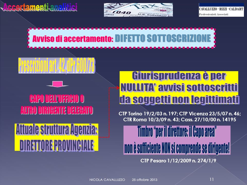 CTP Torino 19/2/03 n. 197; CTP Vicenza 23/5/07 n. 46;