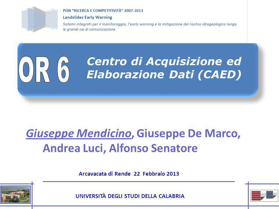 Centro di Acquisizione ed Elaborazione Dati (CAED)