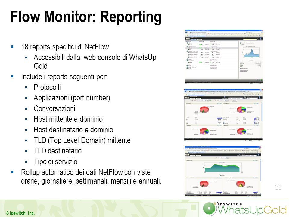 Flow Monitor: Reporting