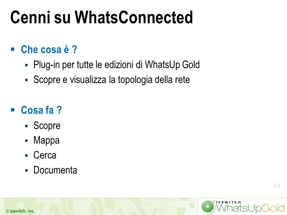 Cenni su WhatsConnected