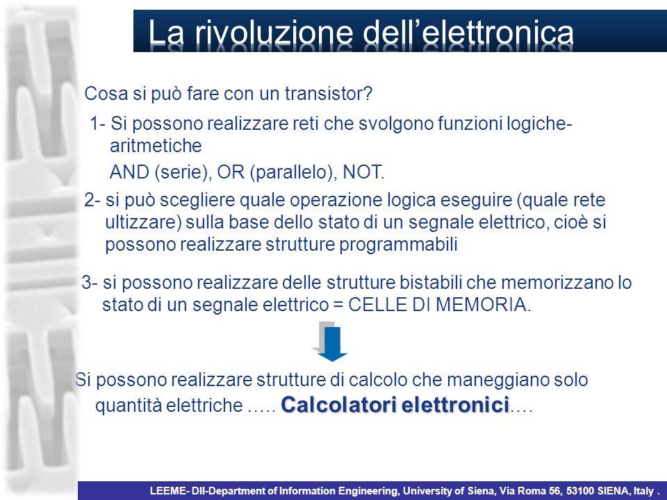 La rivoluzione dell'elettronica