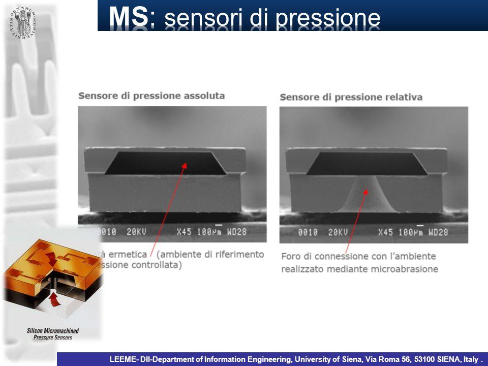 MS: sensori di pressione