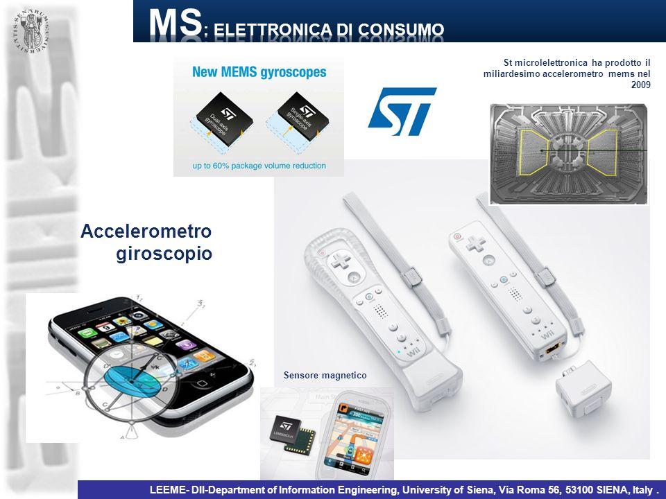 MS: elettronica di consumo