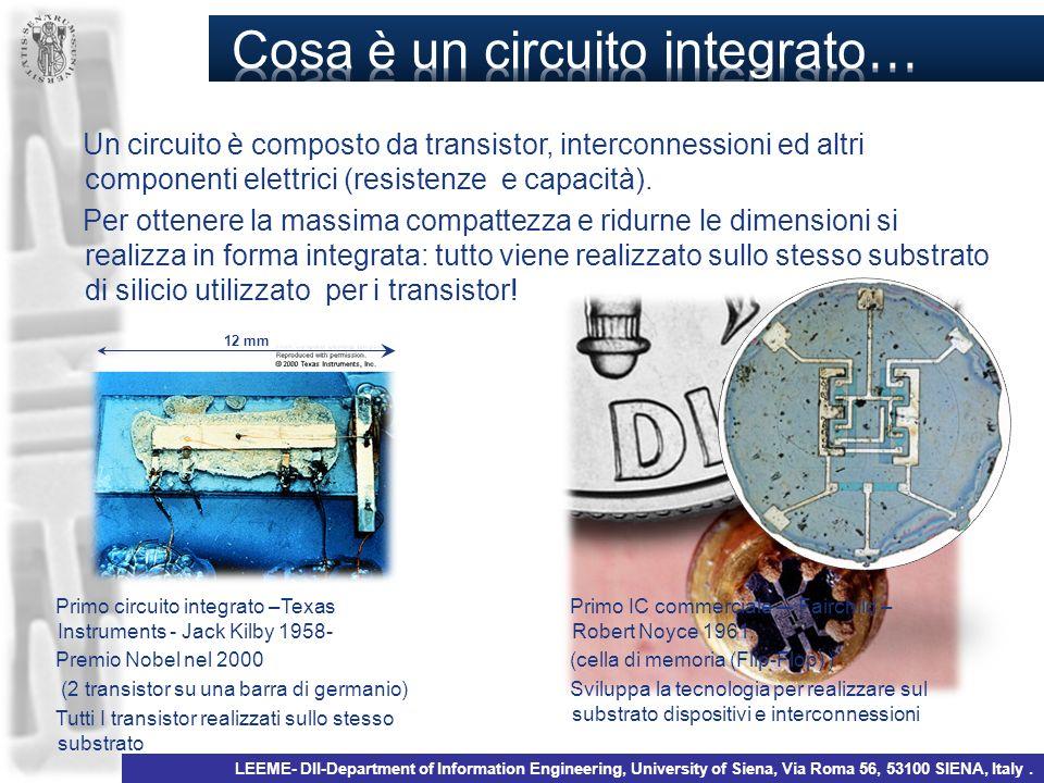 Cosa è un circuito integrato…