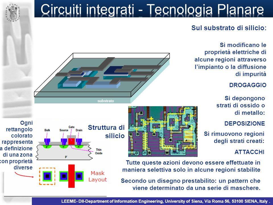 Circuiti integrati - Tecnologia Planare