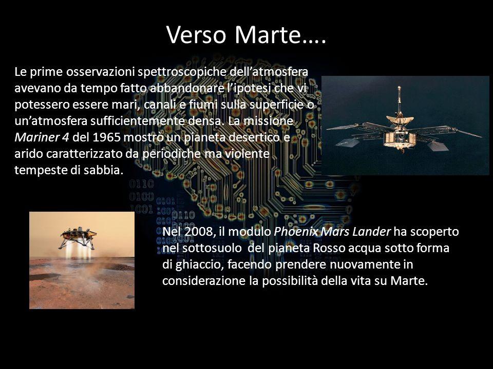 Verso Marte….