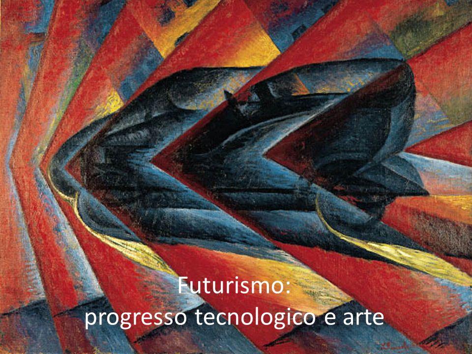 progresso tecnologico e arte