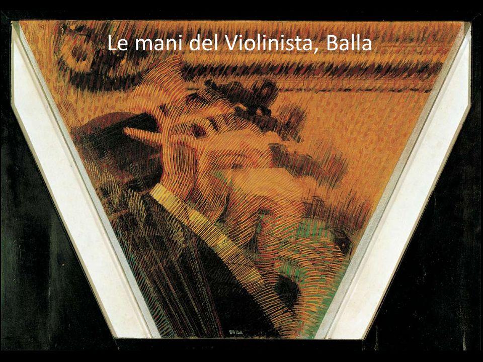 Le mani del Violinista, Balla