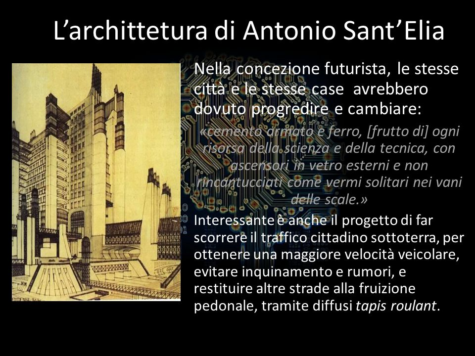 L'archittetura di Antonio Sant'Elia