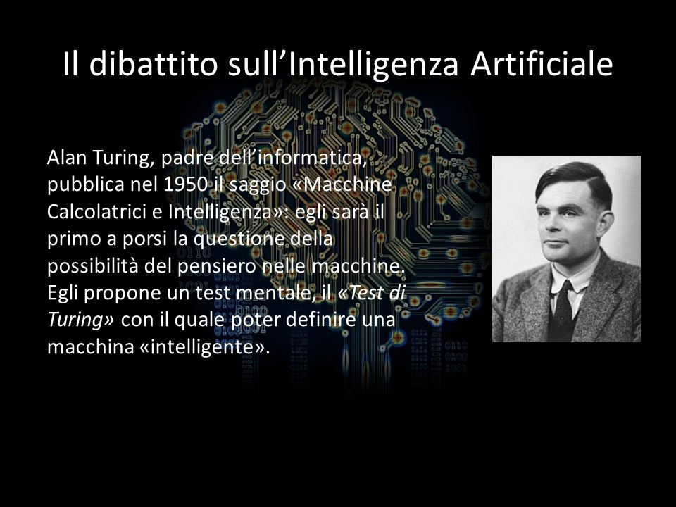 Il dibattito sull'Intelligenza Artificiale