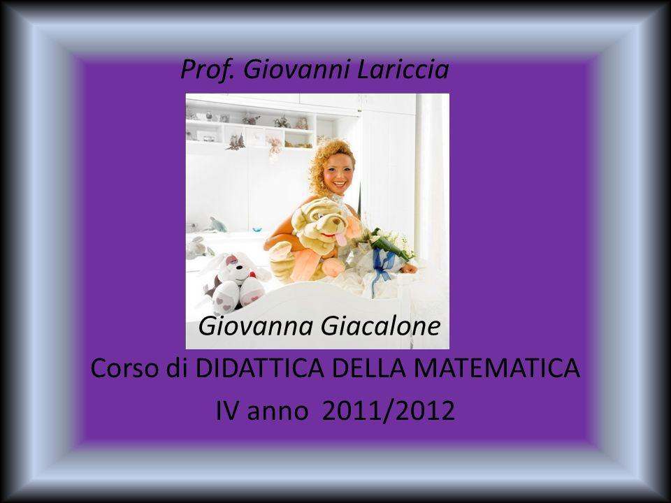 Prof. Giovanni Lariccia