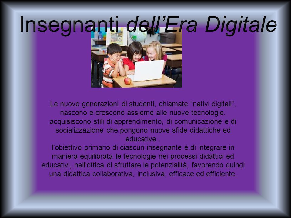 Insegnanti dell'Era Digitale