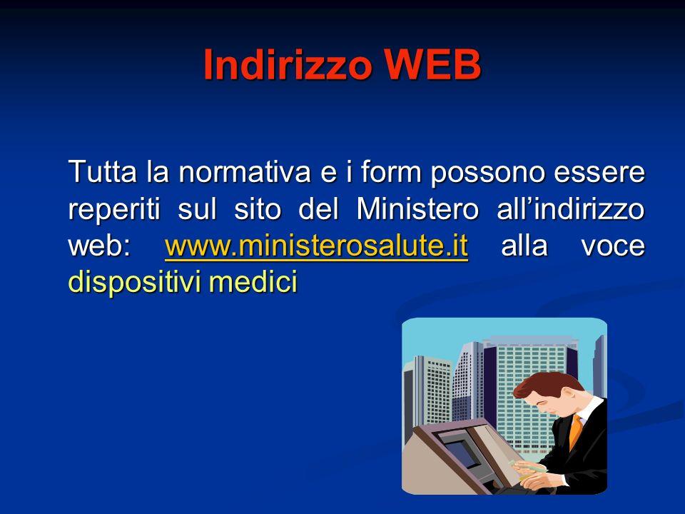 Indirizzo WEB