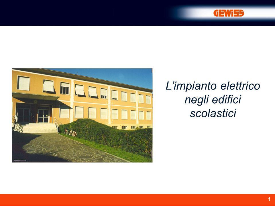 L'impianto elettrico negli edifici scolastici