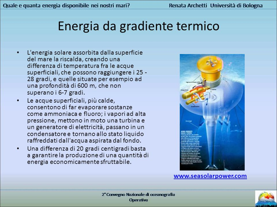 Energia da gradiente termico