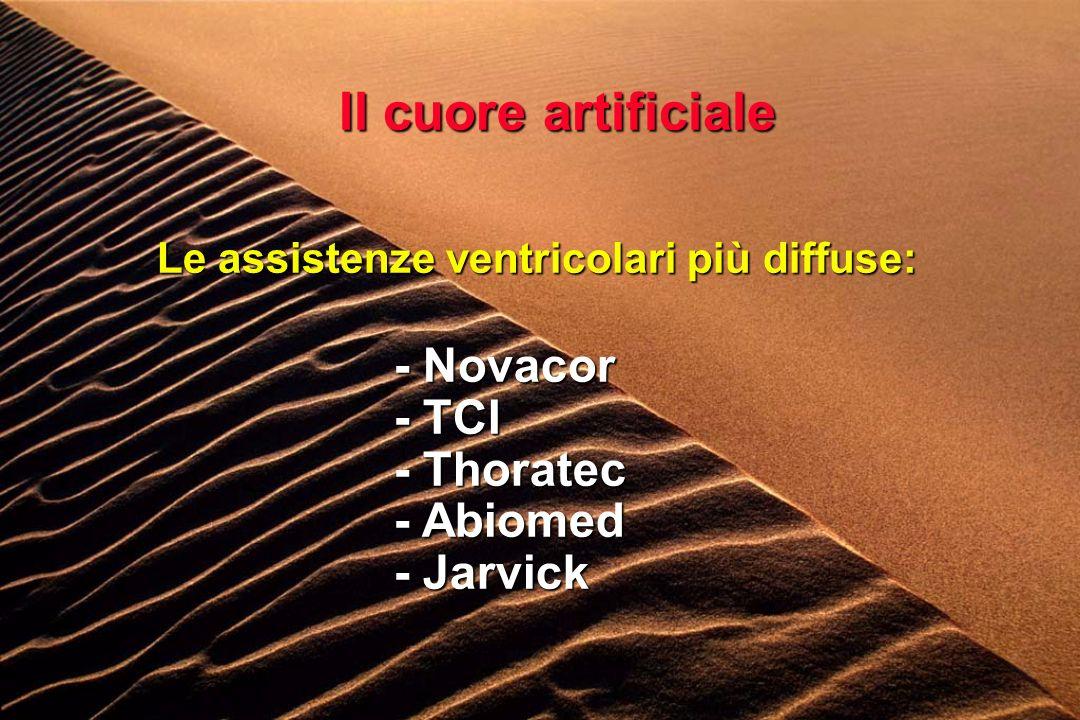Le assistenze ventricolari più diffuse: