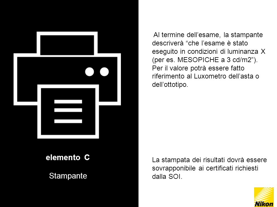 elemento C Stampante.