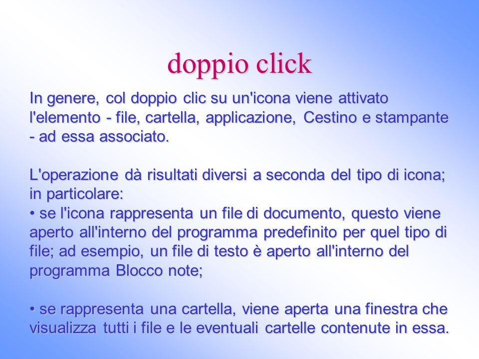 doppio click