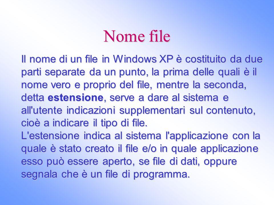 Nome file