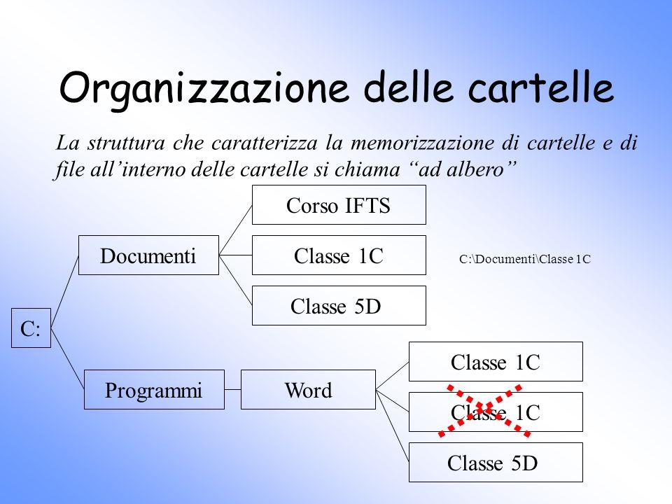Organizzazione delle cartelle