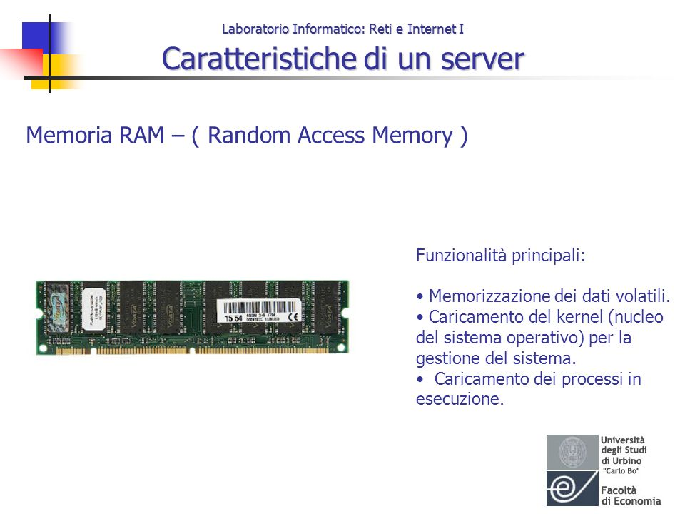 Memoria RAM – ( Random Access Memory )