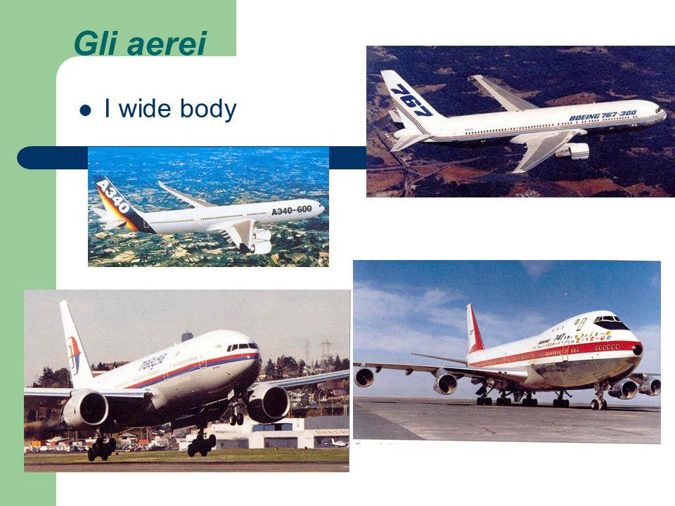 Gli aerei I wide body