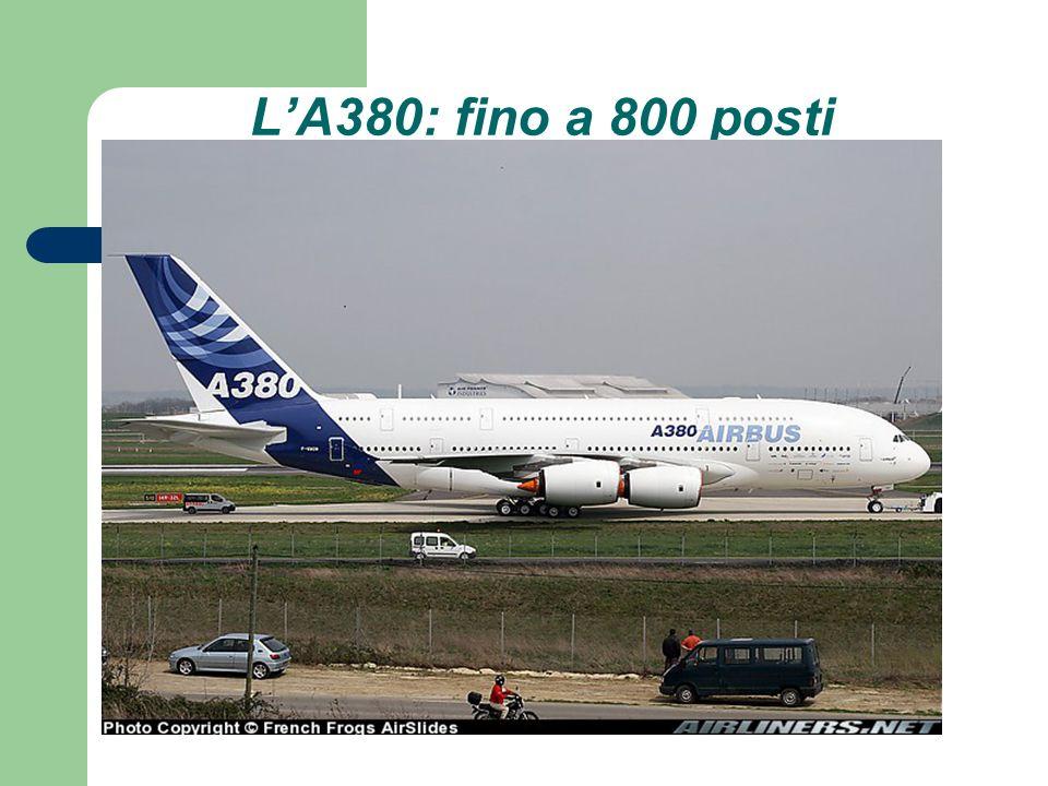L'A380: fino a 800 posti