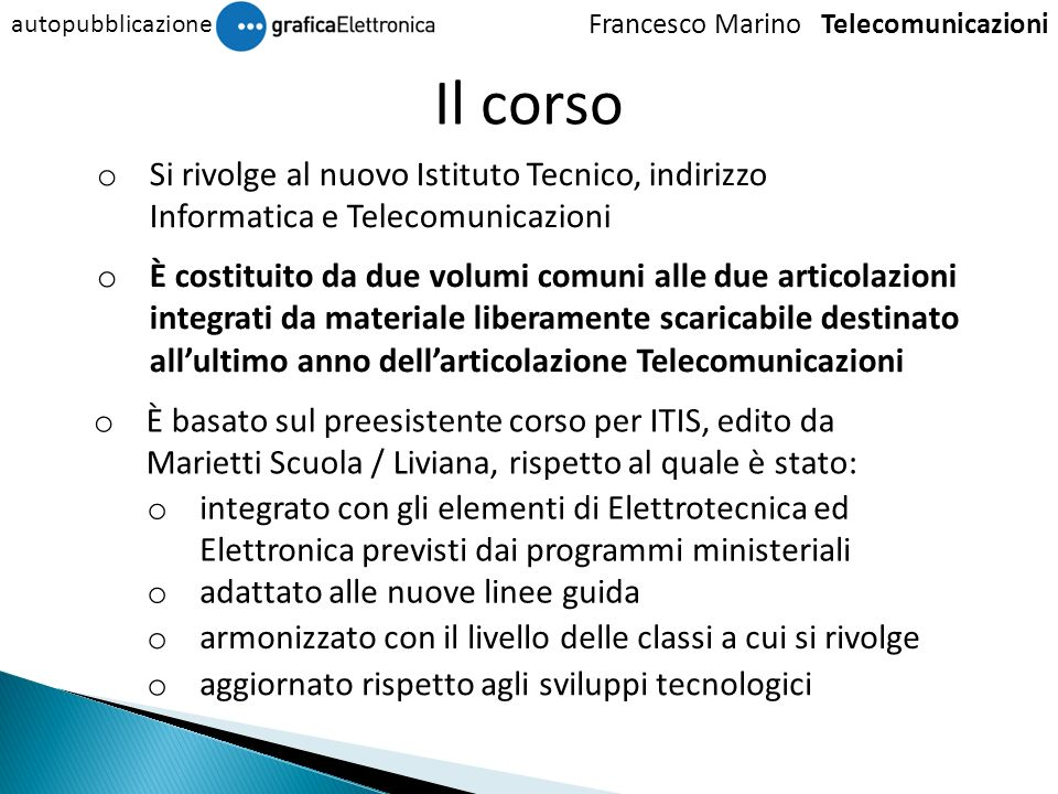 Francesco Marino Telecomunicazioni
